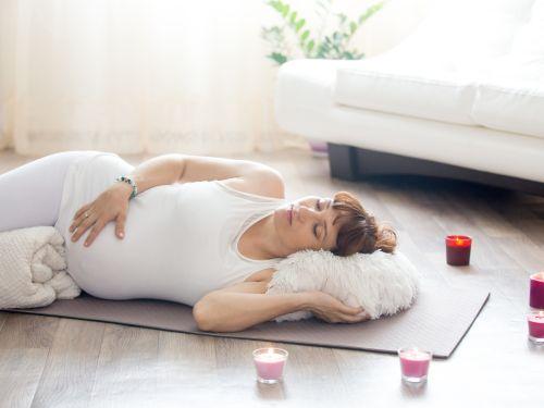 Savasana: Die wichtigste Übung beim Schwangerschaftsyoga