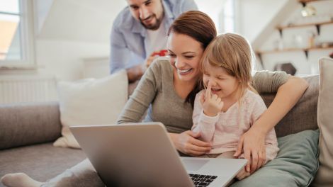 Sicher surfen: Aufwachsen mit dem Internet