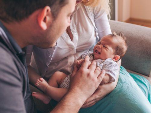 Husten beim Baby: Wann zum Arzt?