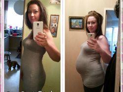 Babybäuche 31. bis 36. Schwangerschaftswoche (im 7./8./9. Monat)