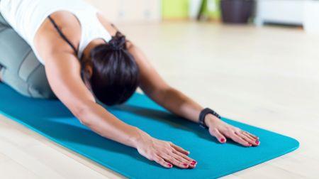 Fünf einfache Übungen Hormon-Yoga