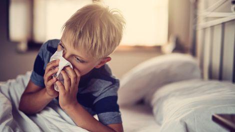 Wie viele Infekte beim Kind sind normal?