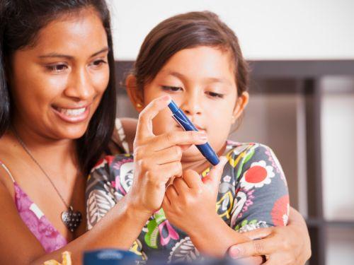 Diabetes mellitus Typ 1 tritt bereits im Kindesalter auf