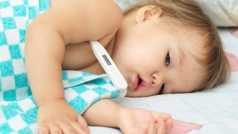 RS-Virus - Auslöser von Atemwegserkrankungen bei Baby und Kleinkind