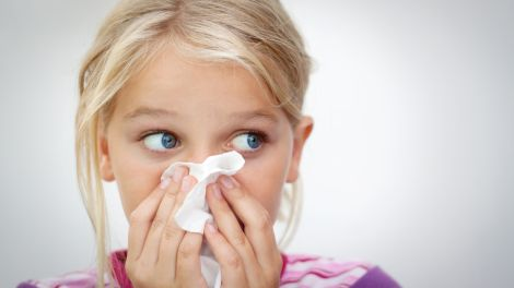 Nasenbluten (Epistaxis) bei Kindern