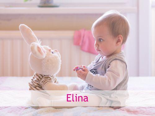 Elina: nordischer Mädchenname