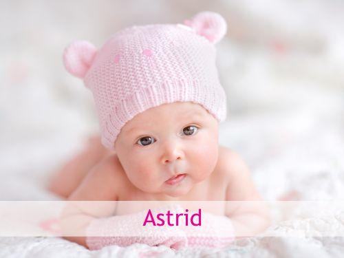 Astrid: Klassischer nordischer Name