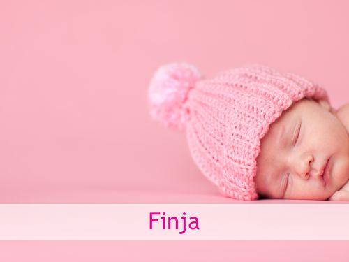 Nordische Namen: Finja